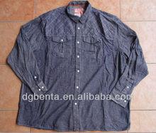 Men's 100% COTTON Denim Shirt 4000PCS-KF5100