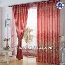 M3254 indian style jacquard curtain fabric window curtain pattern