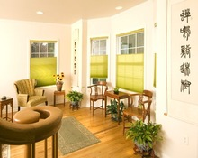 Cordless window blinds and shade, drapery hardware
