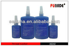 Red anaerobic screw adhesive not removable RoHS OEM