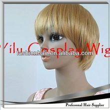 2014 China fashion Cosplay wig,Brazilian virgin hair,Yiwu hair men s toupee best hair