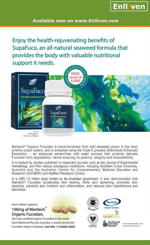 SupaFuco (Certified Australian Organic Fucoidan)