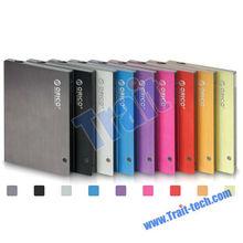 "Aluminium Alloy 2.5"" Sata USB 2.0 External Hard Disk Drive Box HDD Enclosure Case"