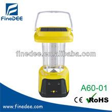 A60-01 Rechargebale Solar Panel Lantern