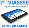 "7"" EKEN W70 VIA8850 1.5GHz Android 4.0 tablet pc capacitive WIFI HDMI webcam"