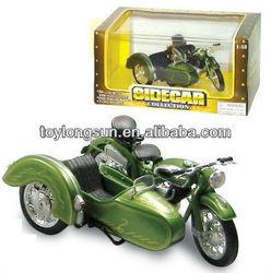 Diecast 13cm Sidecar Motorcycle/Bike Model Toy Gift