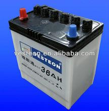 12V Chinese battery NS40Z 12V36AH