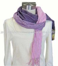 Silk Wool onbre scarf