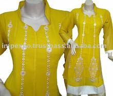 Ladies Fashion wear Frock ( Front Embroidery ), 3 Pcs Suit (Item No.IMPEXPOLADIES783)