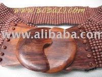 wooden belt bali handmade