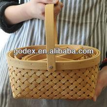 2013! handmade wooden basket