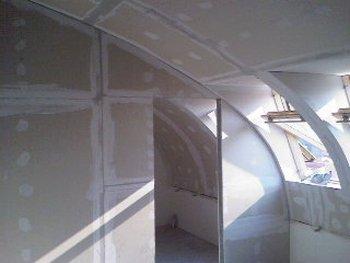 Gipsani radovi, spusteni plafoni, pregradni zidovi