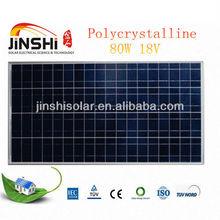 80w poly Solar panel module for street light