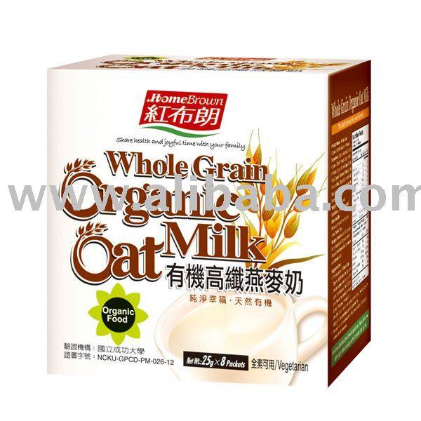 Whole Grain Organic Oat Milk