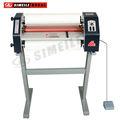 Pvc/foto/imagen fm-480 laminado en caliente de la máquina& prensas en frío con el soporte