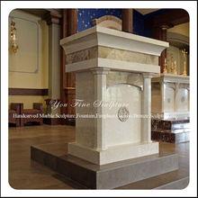 clásico mármol tallados budista del altar