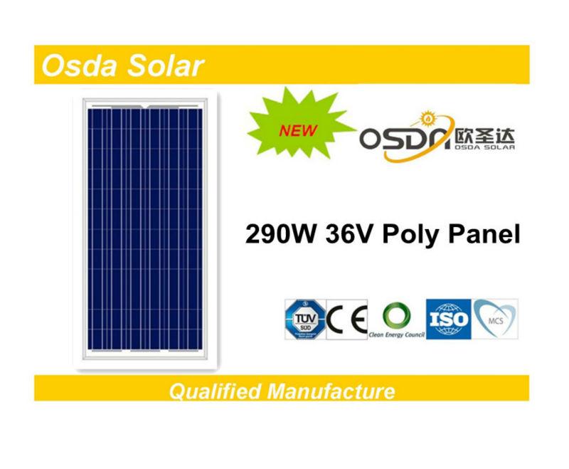 ODA290-36-P best price per watt solar panels