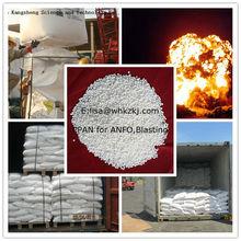 Porous Prilled Ammonia Nitrate