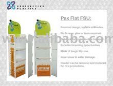 Pax Flat Free Standing Display Unit.