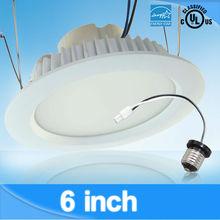 For new or retrofit project! 13W 6'' led retrofit can light E26 base