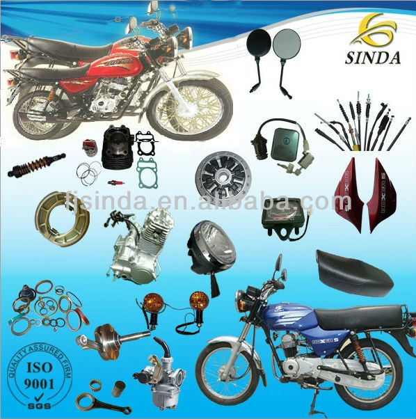 Motorcycle spare parts China