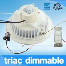 For new or retrofit project! 13W 6'' led recessed downlight E26 base