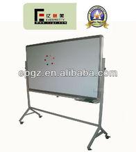 school moving whiteboard steel standard with locker wheels for classroom training room used marker pen