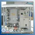 el aceite del transformador dispositivo de filtración para la desgasificación y la eliminación de agua