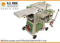 MULTIPURPOSE WOOD WORKING MACHINE 8 IN ONE