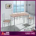 El más reciente 1202-14s plano lleno italiano hecho hombre 4 asientos de mármol de mesa y sillas