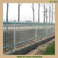 Plástico branco revestido cercas de piquete( gv certificado de fábrica)