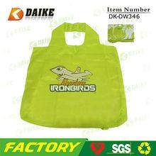 Custonized nylon eco foldable travel bag duffle bag DK-DW346