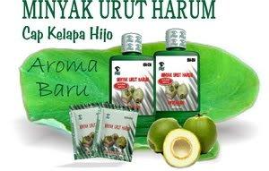 Minyak Urut Cap Kelapa Hijo ( SOFT FRAGRANCE COCONUT OIL) products ...