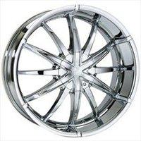 Polo Chrome Wheels - Hyperion Chrome