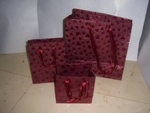 Metallic Handmade Paper Bag