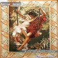 romantischen charme handgeknüpften teppich aubusson wandteppiche