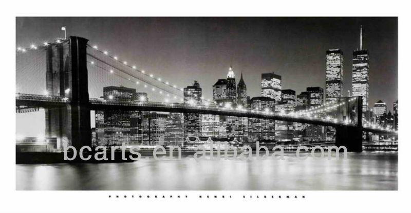 ใหม่ york สะพาน เมือง ภาพ วาด