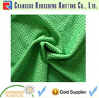 A+ 100 polyester basketball wear knitted fabric
