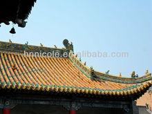 matériaux de toiture traditionnelle chinoise masjid tuiles vertes