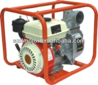 Portable 4-stroke air cood 2 inch hand start diesel water pump