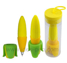 yellow corn gel ink tpr toys pens