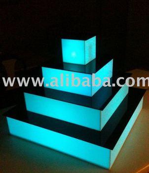 LED cupcake stand (Food riser, Cake display, Retail stand)