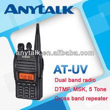 AT-UV 2 band radio with duplex mode V-V/U-U