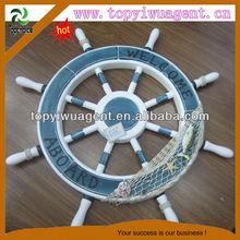wood nautical ship wheel home decoration