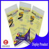 plastic bag closures with self adhesive