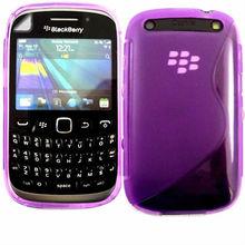 TPU S-Line Gel Case Skin for blackberry curves 9220 cover