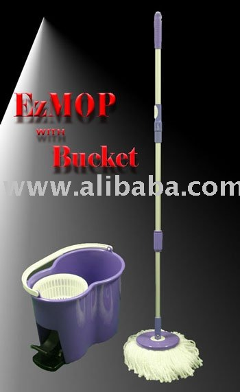 EzMOP with Bucket (Cleaning House's Best Friend)