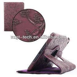 For new ipad mini cases,Retro style leather case for ipad mini