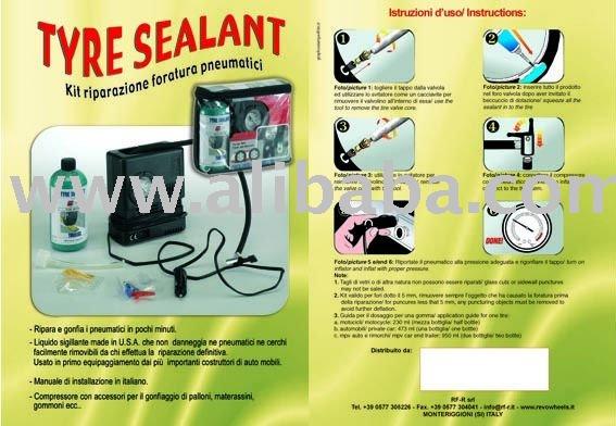 tyres sealant prevention kit