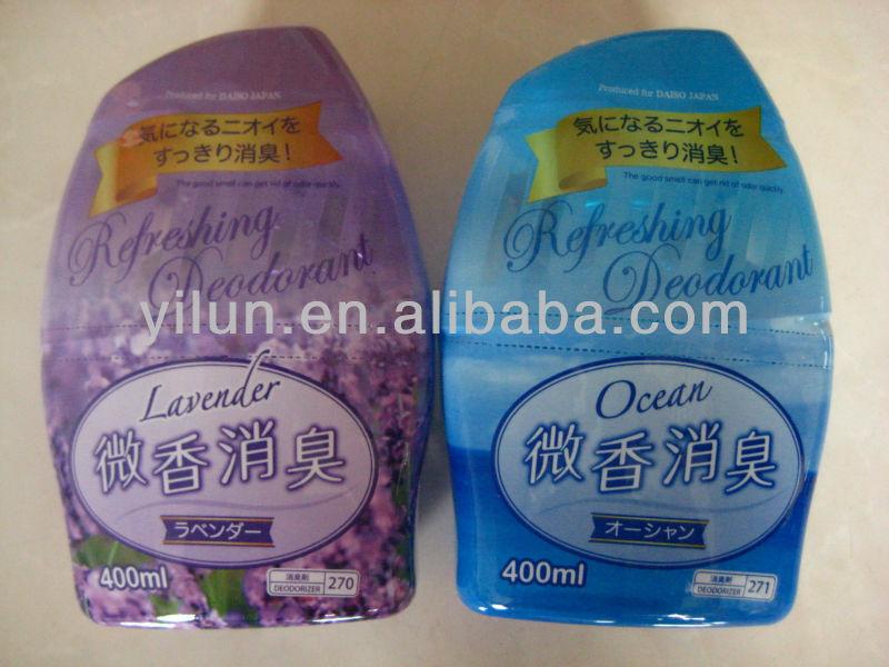 plastic bottle liquid air freshener air deodorizer for toilet for room
